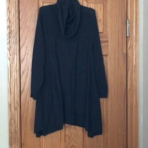 Cowl Neck Tunic Sweater Limited Small S